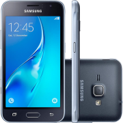 Smartphone Samsung Galaxy J1 2016 Duos Dual Chip Android 5.1 Tela 4.5