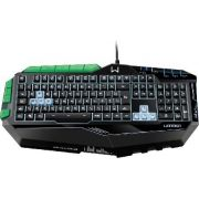 Teclado Gamer Warrior USB 7 Cores de Iluminacao LED TC199