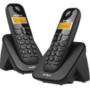 Telefone sem Fio com Identificador de Chamadas + Ramal TS3112 Preto