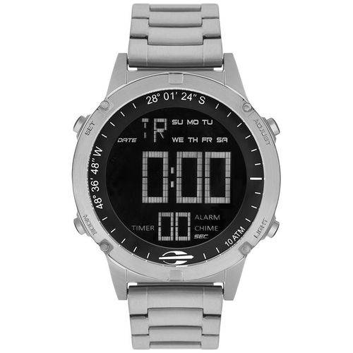 68384b5655f Relógio Masculino Mormaii MOW13901 1P SLIM SURF Prateado - skalla magazine