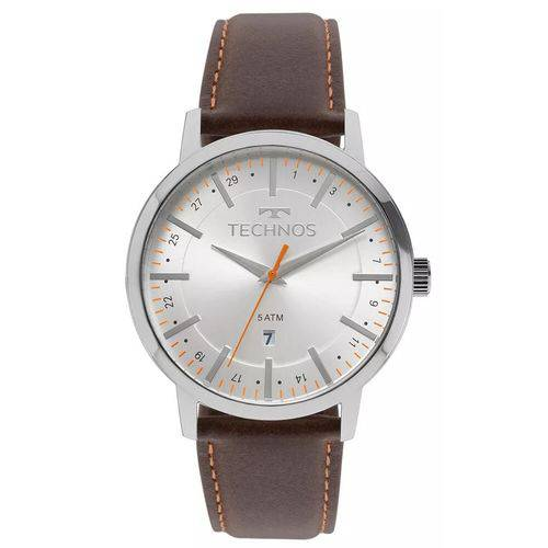 Relógio Masulino Technos Steel 2115MMH/1B  - skalla magazine