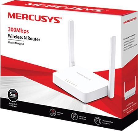 Roteador Wireless N 300MBPS Antena 5BDI Fixa MW305R  - skalla magazine