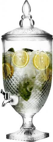 Suqueira Cristal Imperial 4,9 Litros para sucos e água Hauskraft