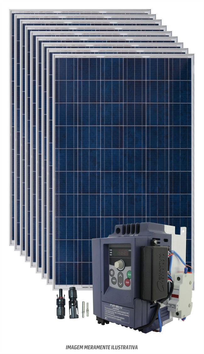 Kit bombeamento de água para motor de até 1,5cv  - Kasatec Energia Solar