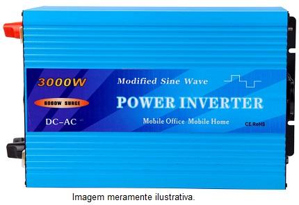 Inversor Onda Modificada 3000w 24v/ 220v  - Kasatec Energia Solar