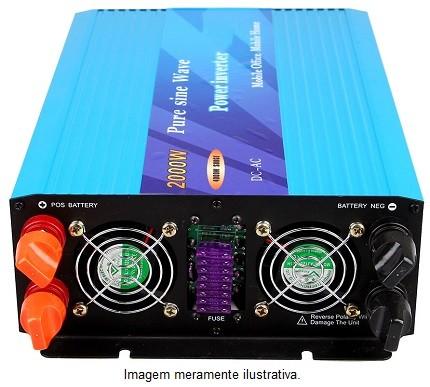 Inversor Senoidal Puro 2000w  - Kasatec Energia Solar