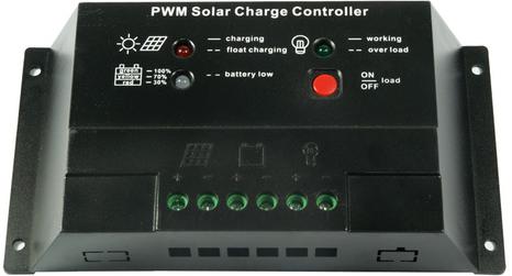 Controlador de Carga 10A  - Kasatec Energia Solar