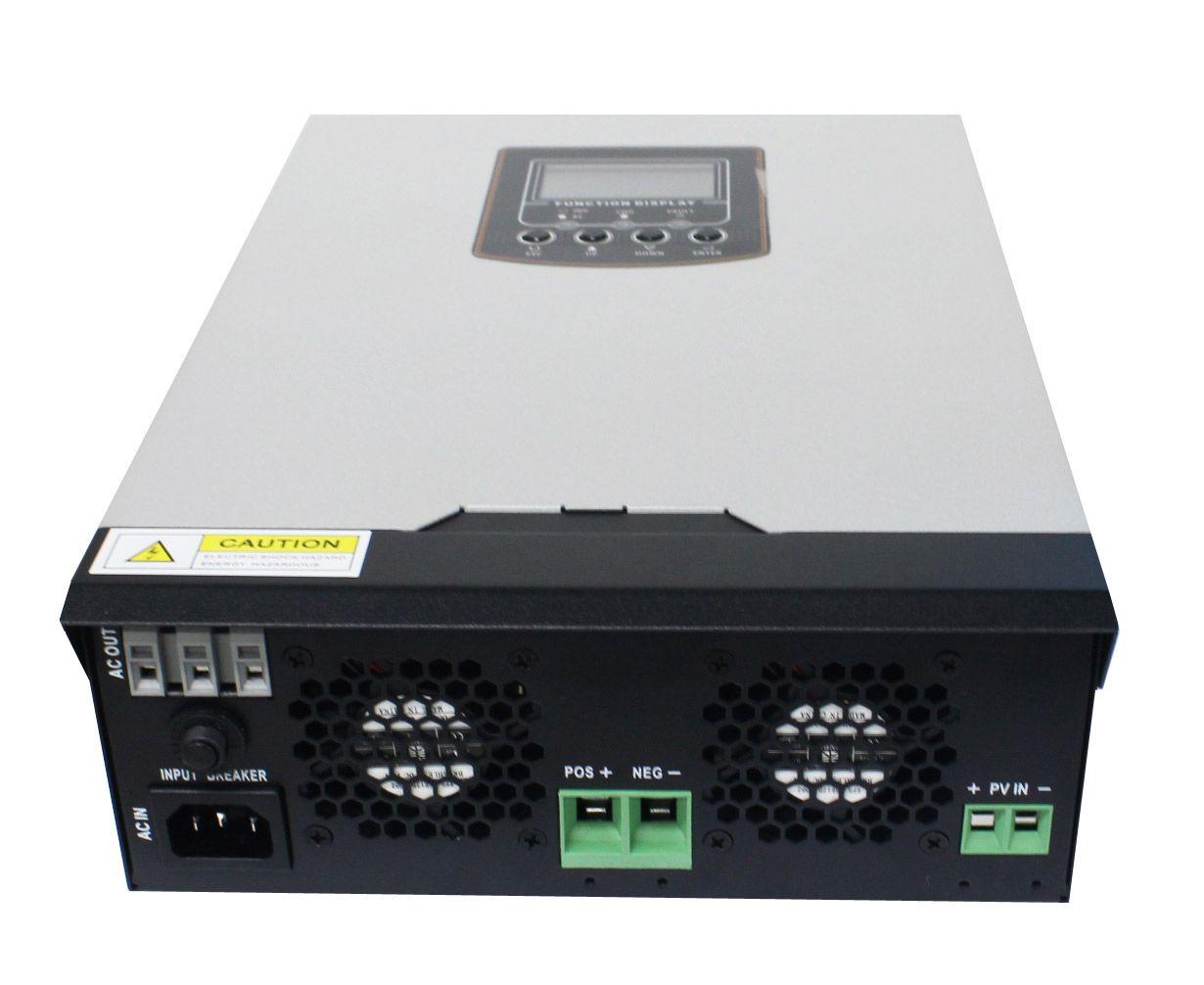 Inversor Nobreak Senoidal 2000w 24v/220v - Carregador 20A/50A  - Kasatec Energia Solar