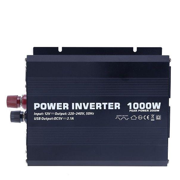 Inversor Onda Modificada 1000w 24v  - Kasatec Energia Solar