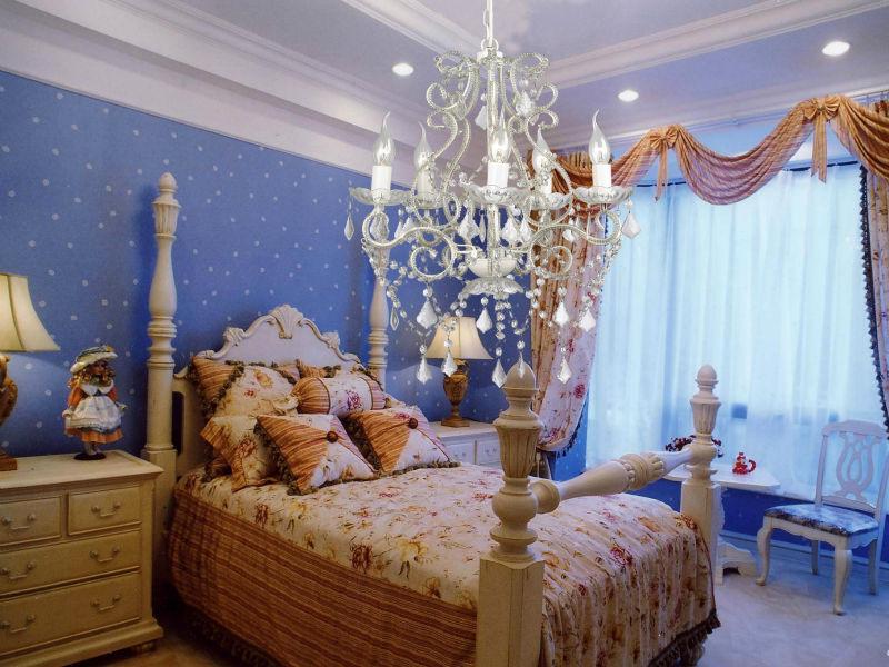 Lustre Sala Pendente Candelabro Para 5 Braços Branco Acrílico