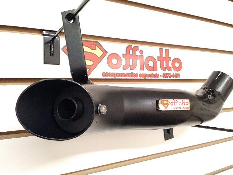 Ponteira esportiva CBR 1000 rr Fireblade Aço carbono  - Soffiatto