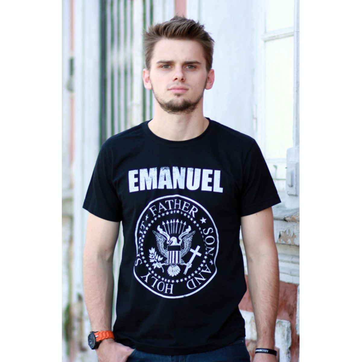 Camiseta Emanuel  - Jesuscopy