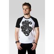 Camiseta Alfa e Omega - Raglan