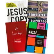 Kit 01 - FRETE GRÁTIS - Louco Amor + Jesus é __ + Discipulado + Jesuscopy