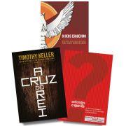 KIT 02 - FRETE GRÁTIS - Entendes o que lês + A Cruz do Rei + O Deus esquecido