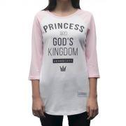 Camiseta Princess - #REINODEPONTACABEÇA