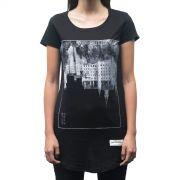 Camiseta  Upside Down Castle Feminina - #REINODEPONTACABEÇA