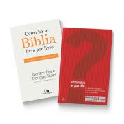 KIT 08 - FRETE GRÁTIS - ENTENDES O QUE LÊS? + COMO LER A BÍBLIA