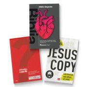 KIT Frete Grátis - Bíblia Coração + Jesuscopy + Entendes o que lês