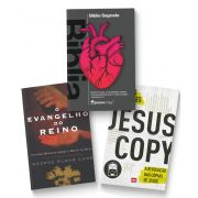 Kit Frete Gratis - Bíblia Coração + Jesuscopy + Evangelho do Reino