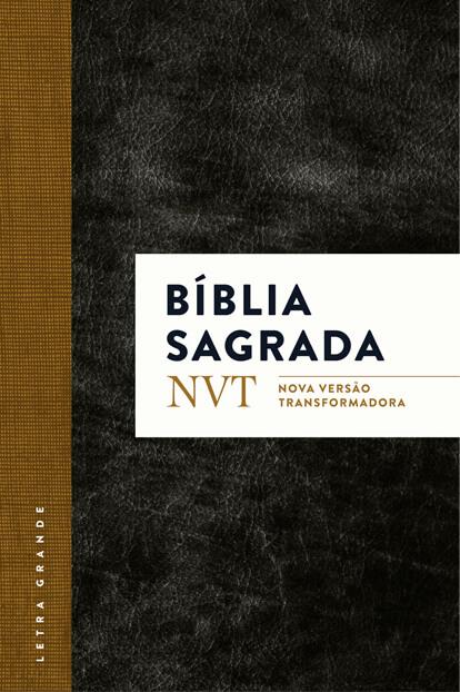 Biblia NVT - Clássica com Letra GRANDE  - Jesuscopy