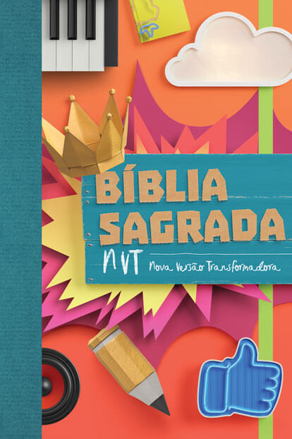 Biblia NVT - Colagem   - Jesuscopy