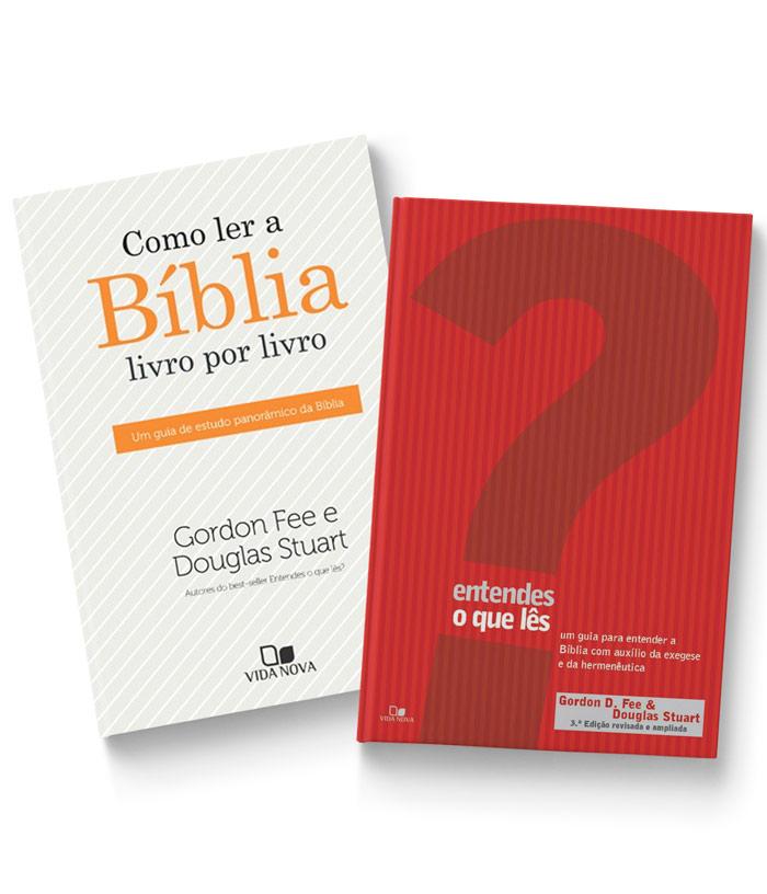 KIT 08 - FRETE GRÁTIS - ENTENDES O QUE LÊS? + COMO LER A BÍBLIA  - Jesuscopy