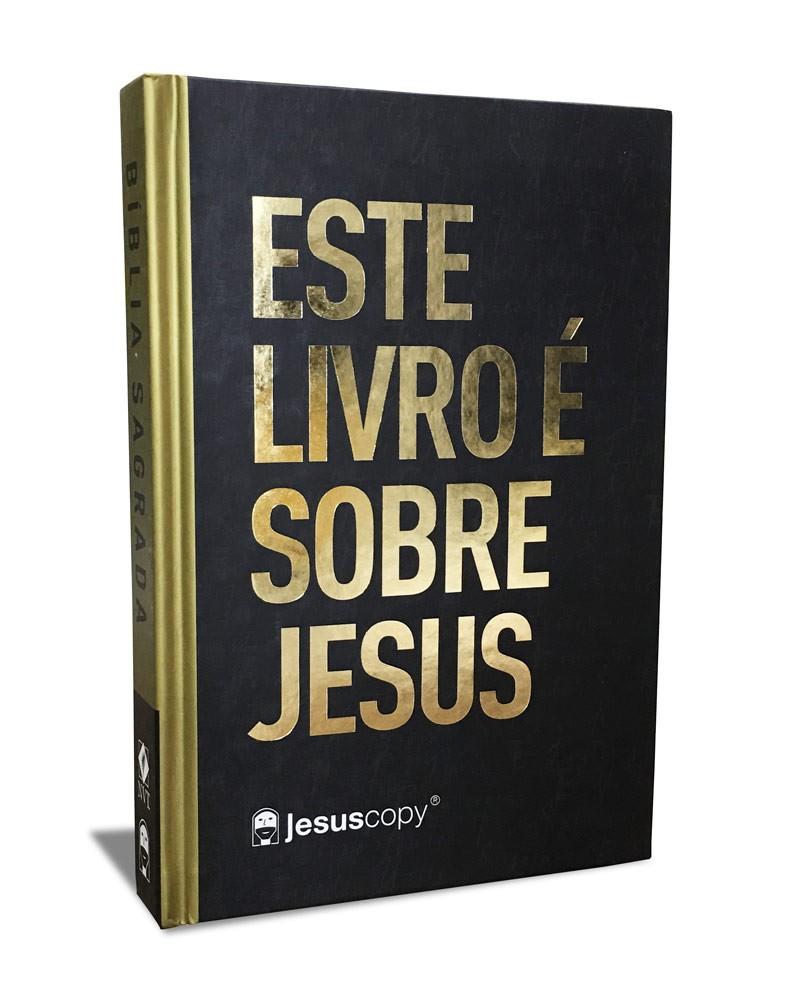 Biblia - Este livro é sobre Jesus - NVT  - Jesuscopy
