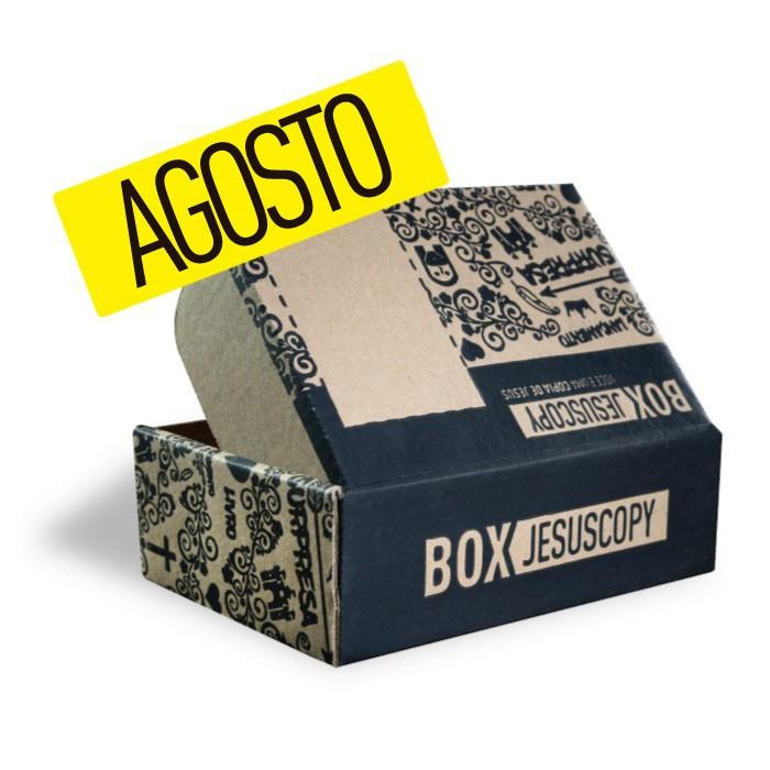 Box dos meses anteriores - Agosto  - Jesuscopy