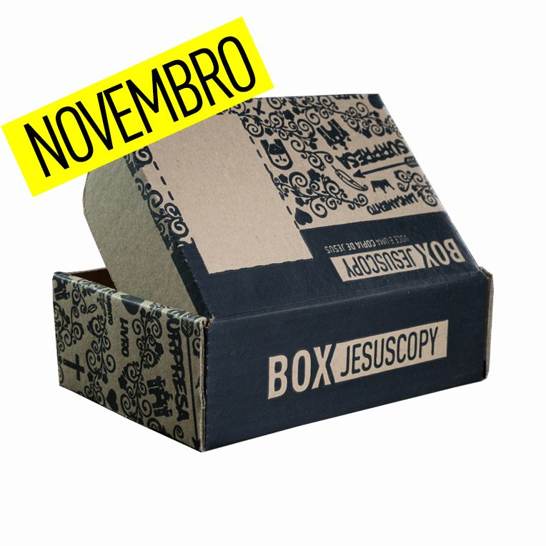 Box dos meses anteriores - NOVEMBRO  - Jesuscopy