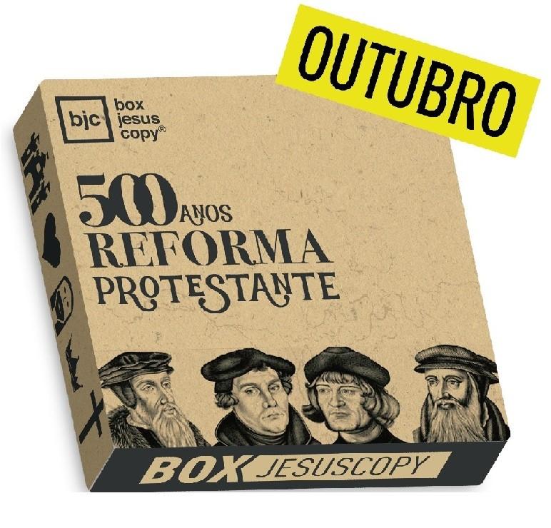 Box dos meses anteriores - Outubro - BOX da Reforma  - Jesuscopy