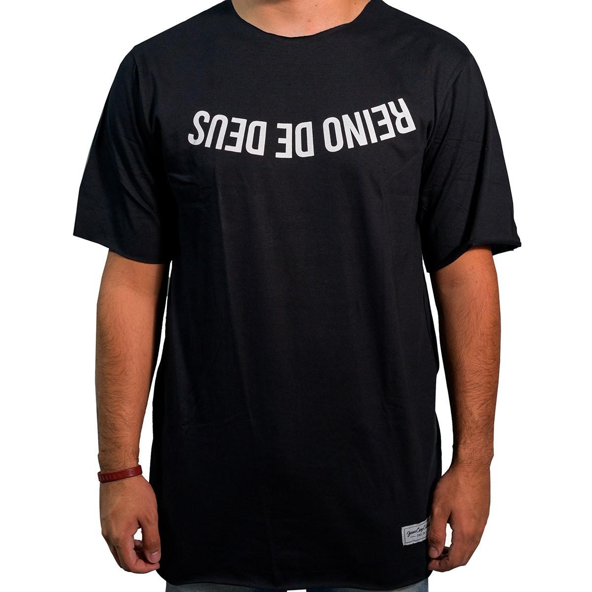 Camiseta Reino de Deus Masculina - #REINODEPONTACABEÇA  - Jesuscopy