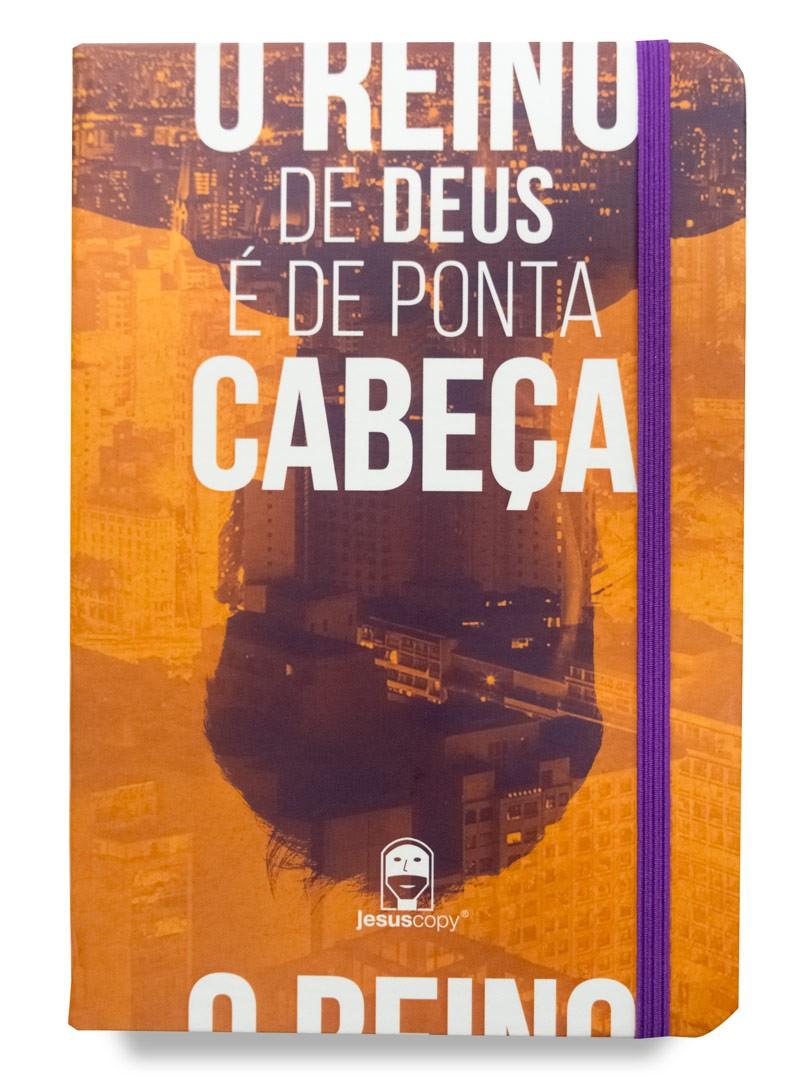 Moleskine Reino de Ponta Cabeça   - Jesuscopy