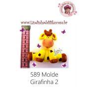 MOLDE GIRAFINHA 2