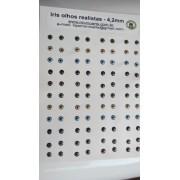IRIS OLHOS REALISTAS 4,2mm