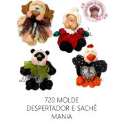 MOLDE DESPERTADOR & SACHÊ MANIA G