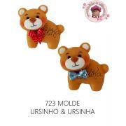 MOLDE URSINHO & URSINHA