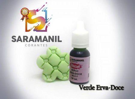 CORANTE LIQUIDO VERDE ERVA - DOCE 10ML