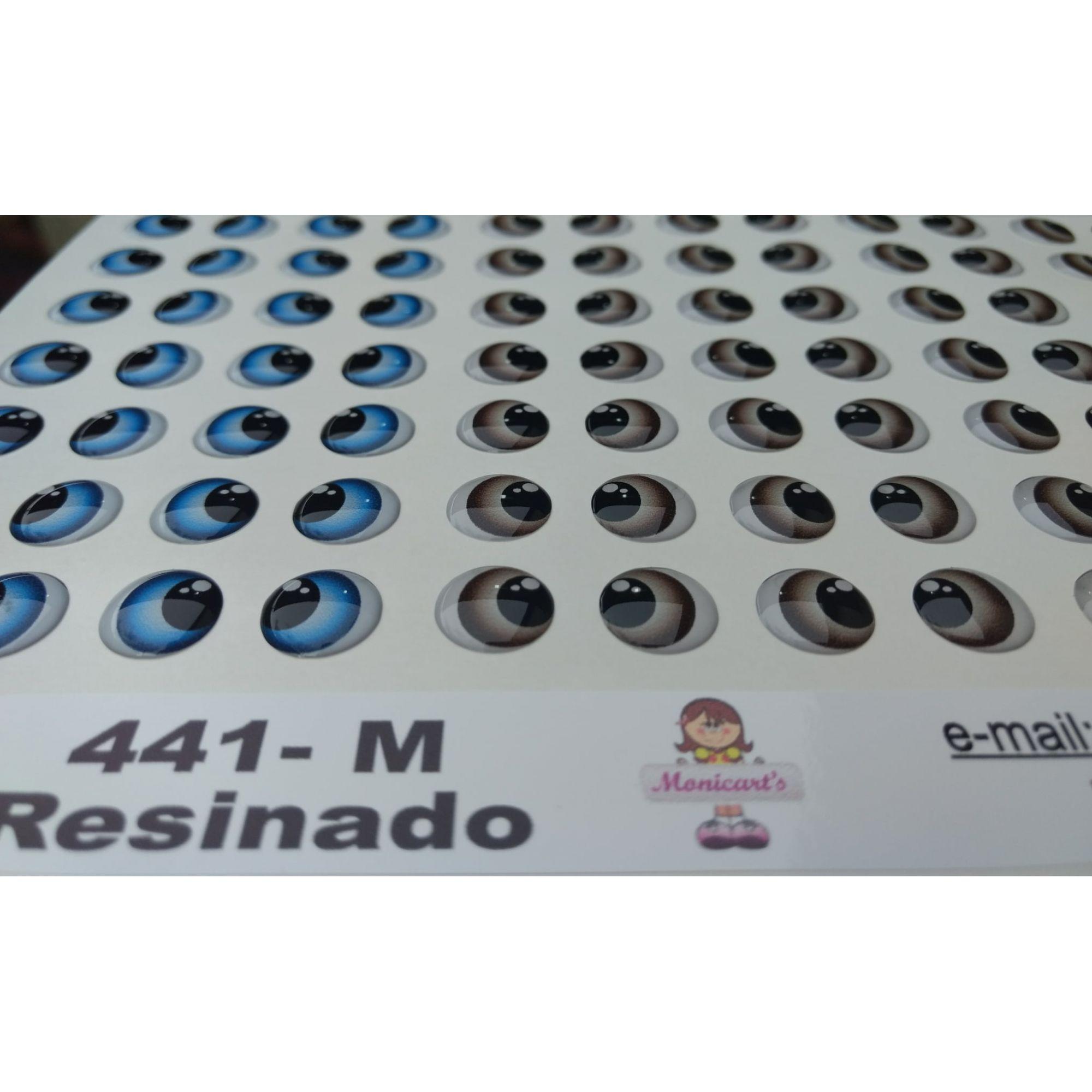 OLHOS ADESIVOS RESINADO 441 M