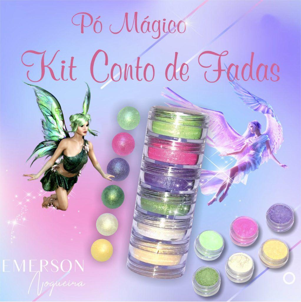 Pó Mágico Kit Conto de Fadas