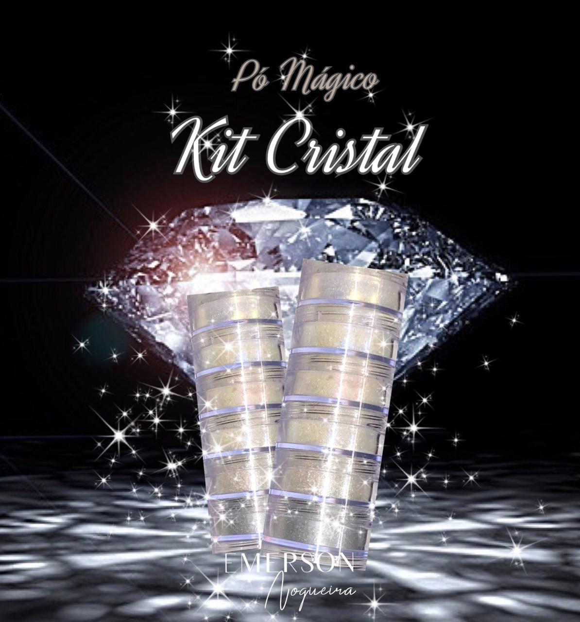 Pó Mágico Kit cristal