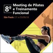 8º Meeting de Pilates e Treinamento Funcional (21 a 23/09/18)