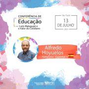 Conferência de Educação - Loris Malaguzzi e o Valor do Cotidiano + o livro do autor Alfredo Hoyuelos