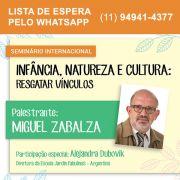 Infância, natureza e cultura: resgatar vínculos (Miguel Zabalza)
