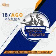 Simpósio de Psicologia do Esporte (18 de agosto)