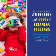 Workshop - Atividades para bebês e crianças pequenas