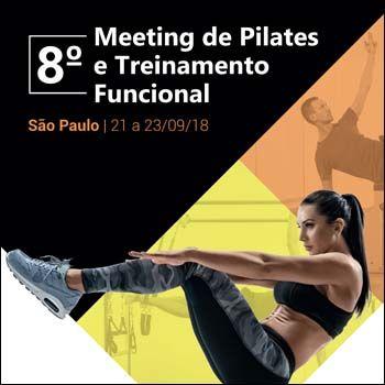 8º Meeting de Pilates e Treinamento Funcional (21 a 23/09/18)  - Cursos distância e aulas online Instituto Phorte Educação.