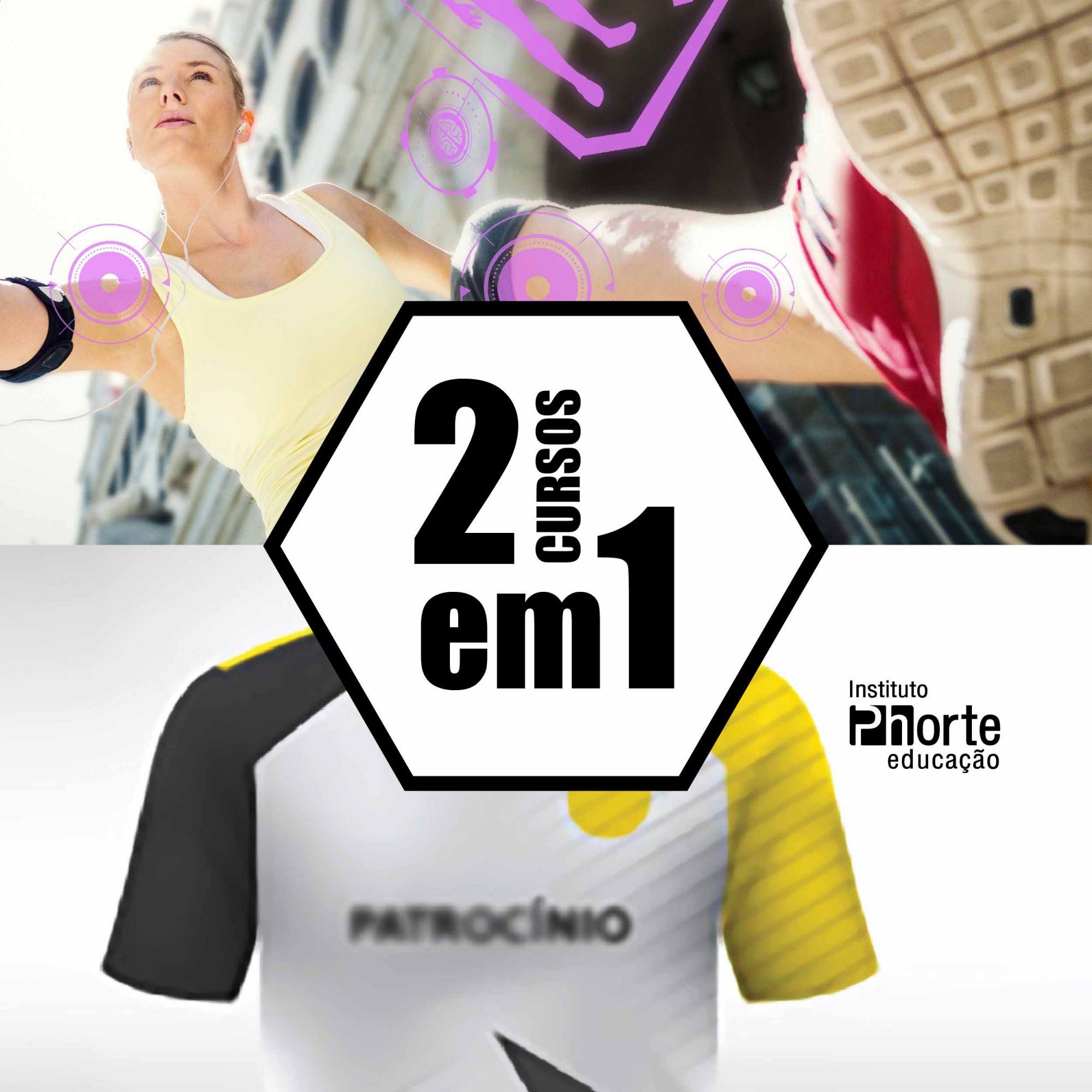 Combo corrida de rua 1  - Cursos distância e aulas online Instituto Phorte Educação.