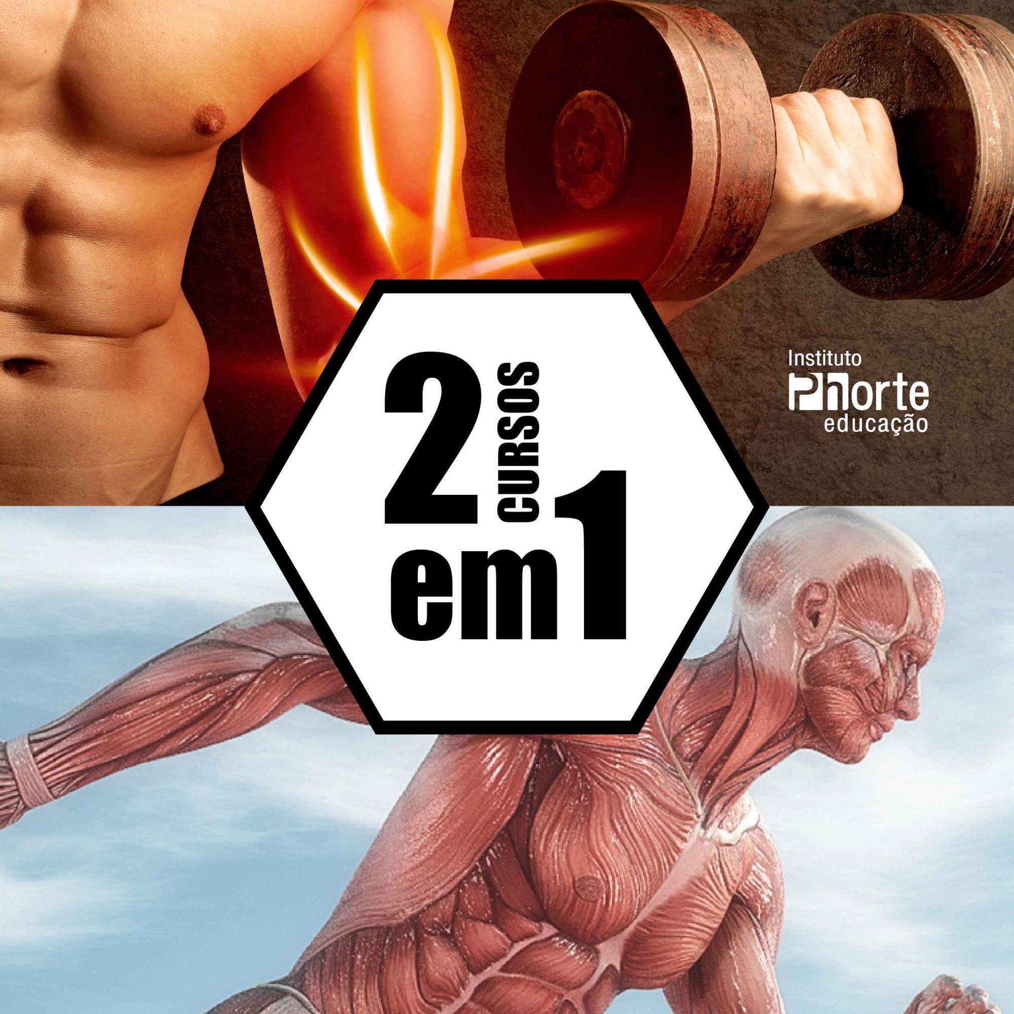 Combo Musculação 2  - Cursos distância e aulas online Instituto Phorte Educação.