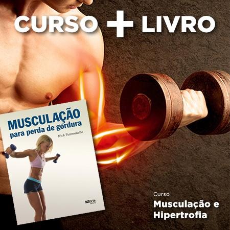 Combo Musculação  - Cursos distância e aulas online Instituto Phorte Educação.